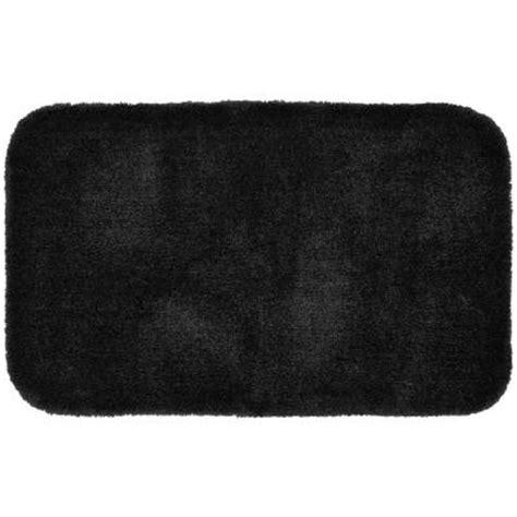 Garland Rug Finest Luxury Black 24 In X 40 In Washable