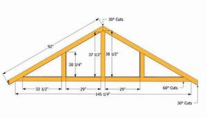 How to build a roof for a 12x16 shed howtospecialist for 16 ft roof trusses