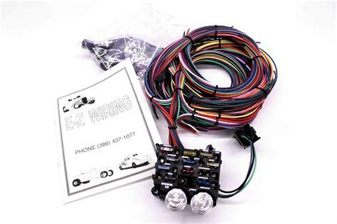 Ez Rod Wiring Harnes Kit by Wiring Harness 12 Circuit Ez Vintage Motors
