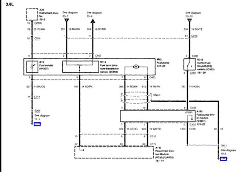 What The Fuel Pump Relay Location Ford Mustang