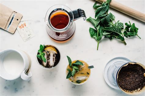 Baristas are trained in the best way to make pour over coffee. Mint Mojito Pourover Coffee   Recipe   Mint mojito, Pour over coffee, Mojito