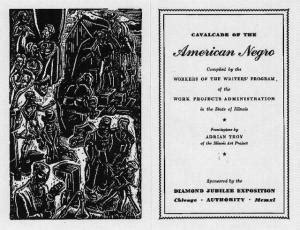 modern american poetry site cavalcade of the american negro modern american poetry
