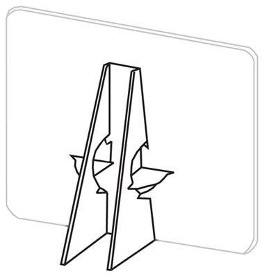 Lineco Double Wing Black Easels