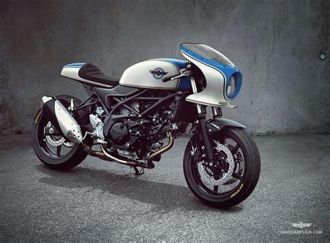 Suzuki Sv650 Cafe Racer by Suzuki Sv650 Cafe Racer Design By Jakusa Design