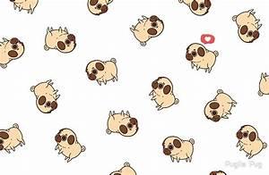 """""""Puglie Pug"""" Laptop Skins by Puglie Pug Redbubble"""