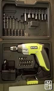 Visseuse A Choc Ryobi : ryobi tournevis sans fil 4 volts ~ Dailycaller-alerts.com Idées de Décoration