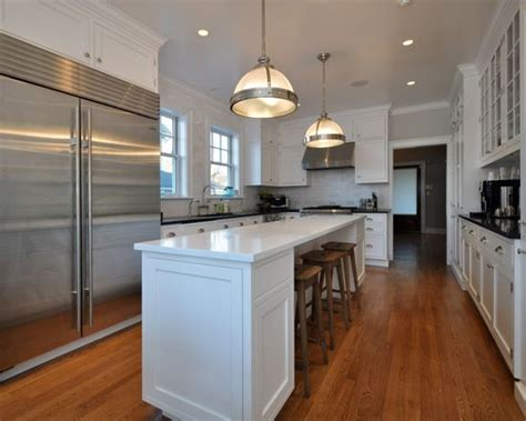 narrow kitchen island narrow kitchen island houzz