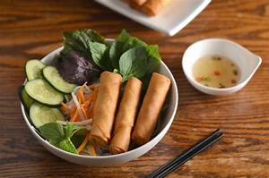 Vietnamese Egg Rolls & Rice Noodles Recipe (Bún Chả Giò)