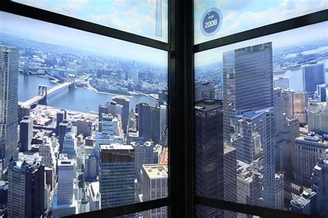 freedom tower s elevator shows growth of nyc skyline over