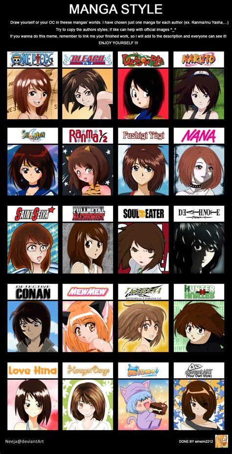 manga style meme by neeja on deviantart