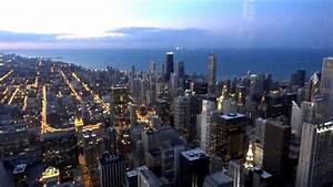 Chicago getting night... Skydeck - Willis Tower (HD) - YouTube