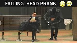 Falling Head Prank -Julien Magic - YouTube
