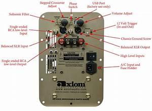 Subwoofer Back Panel Controls Explained
