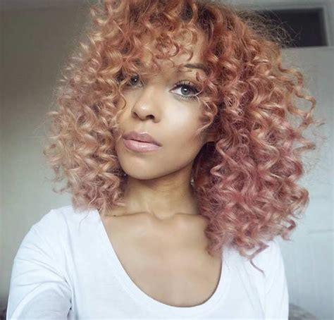 trendy rose gold hair color ideas stayglam