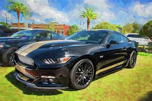 2016 Ford Hertz Shelby Mustang Gt-h 103 Photograph by Rich Franco