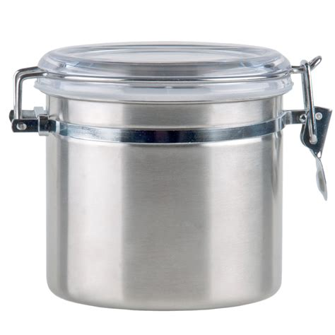109 Qt Stainless Steel Ingredient Storage Canister With