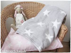 Teddy Fleece Decke : fleece decke sterne grau teddyfleece kuscheldecke sofa decke plaid skandi winter ambienteschmiede ~ Orissabook.com Haus und Dekorationen