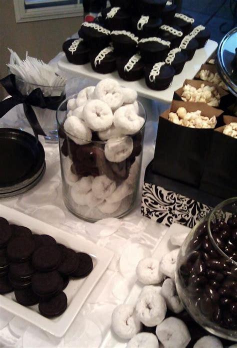 ideas  white dessert tables  pinterest