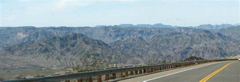 scenic highway   southern nevada  western arizona