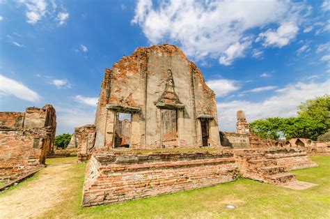 Wat Phra Sri Rattana Mahathat Fotografia Stock Immagine