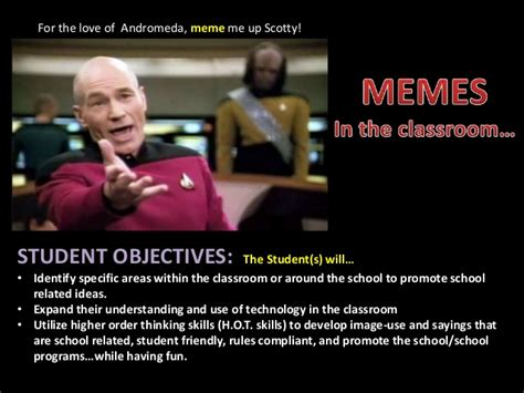 In Class Meme - memes in the classroom