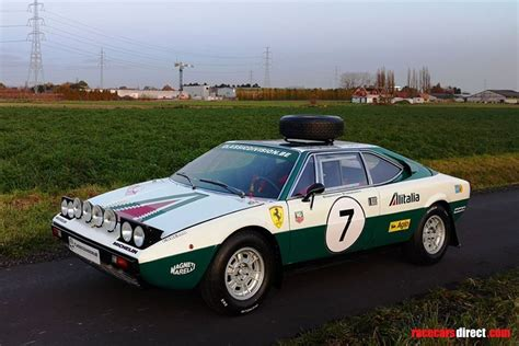 """Originally launched in '73, the 308 didn't enjoy the privilege of being a ferrari until three years later, starting off its life being branded under dino as the car had less than 12 cylinders. Racecarsdirect.com - Ferrari 308 GT/4 Dino Safari """"Alitalia"""""""