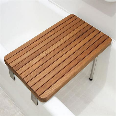 bathtub transfer bench ada compliant foldup teak shower seats and benches