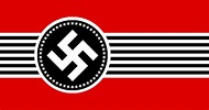 Flag of U.S. in the Style of Nazi Germany : vexillology