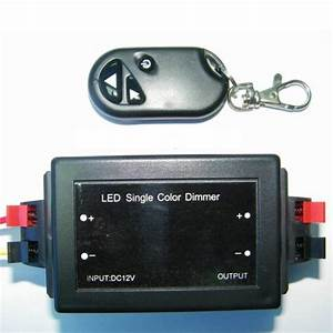 Variateur Pour Led : variateur d 39 intensit rf pour strip led 12v couleur ~ Edinachiropracticcenter.com Idées de Décoration