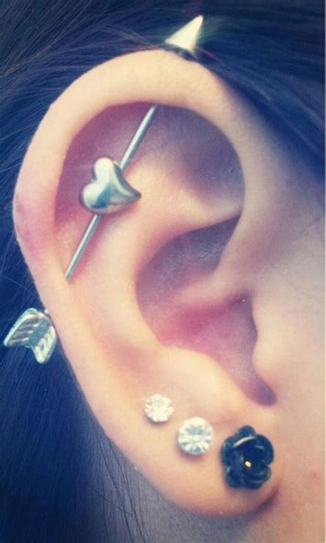 awesome ear piercing ideas   inspiration