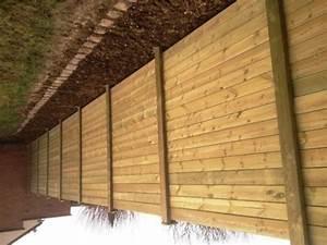 Barrière En Bois Jardin : pose cloture bois barriere jardin bois chromeleon ~ Premium-room.com Idées de Décoration
