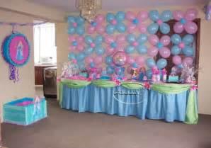 arreglos para un baby shower decoracion con globos para baby shower de ni 241 o decoracion globos