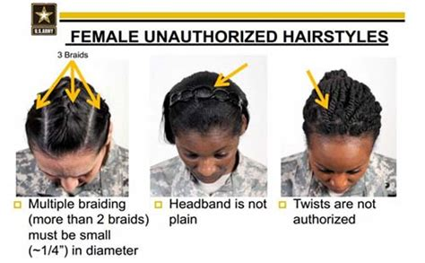 army discriminate  black women
