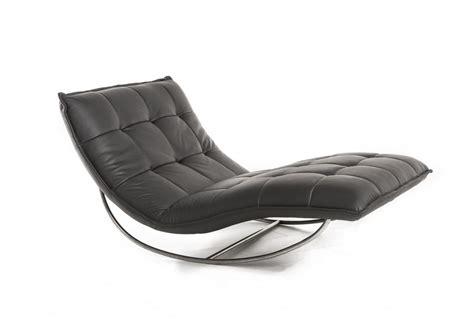 chaise longue cuir chaise longue de relaxation rockme xl en cuir
