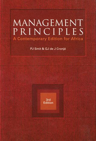 management principles  contemporary edition  africa