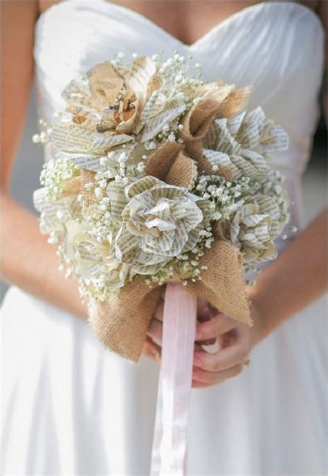 1000 Ideas About Paper Wedding Bouquets On Pinterest
