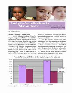 Closing The Gap On Healthcare For Arkansas Children