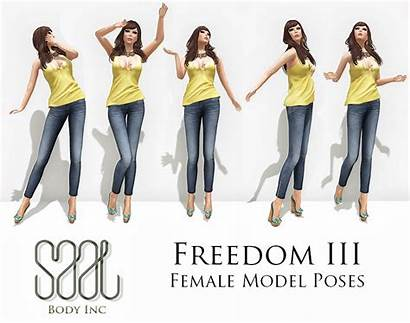 Poses Female Freedom Male Iii Inc Saal
