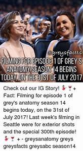 FILMING FOR EPISODE 1OF GREYS ANATOMY SEASON 1 4 BECINS ...