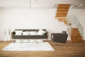 Treppe Mit Glasgeländer : offene wohnung wohnk che schlafzimmer und bad ohne w nde ~ Sanjose-hotels-ca.com Haus und Dekorationen