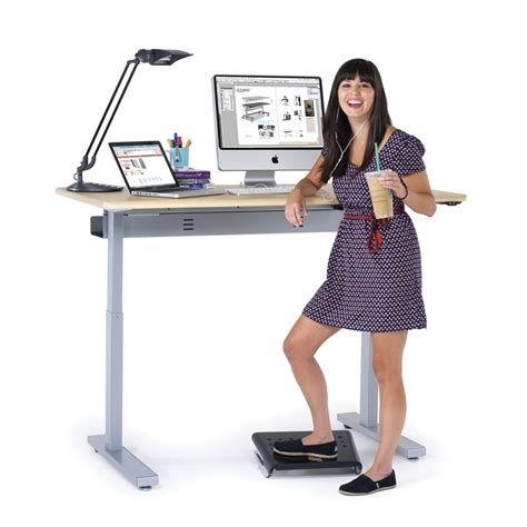 electric stand up desk electric standing desks powered stand up desks from anthro