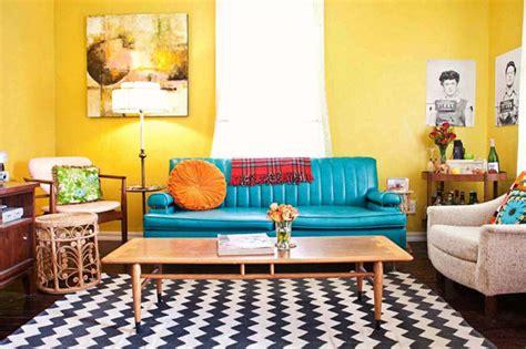 sala de estar colorida decorada  muito estilo