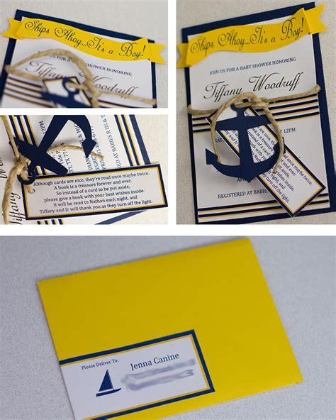 nautical themed baby shower invitations dolanpedia