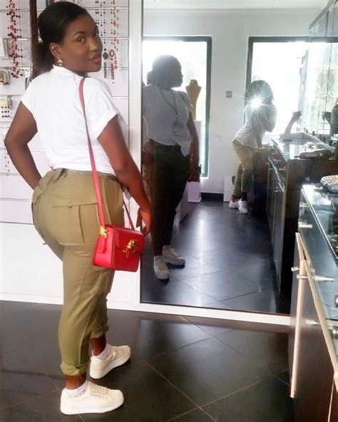 corper with big backside breaks the internet photo nigeria