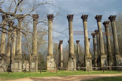 The Windsor Ruins In Mississippi