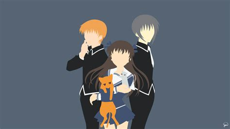 Fruit Basket Anime Wallpaper - fruits basket minimalist wallpaper by greenmapple17 on