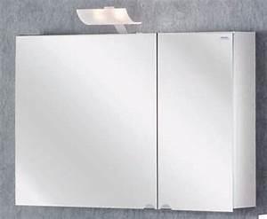 Küchenschrank Korpus Ohne Türen : lanzet spiegelschrank l2 leuchte 2 t ren korpus farbe wei 90x60 ~ Buech-reservation.com Haus und Dekorationen
