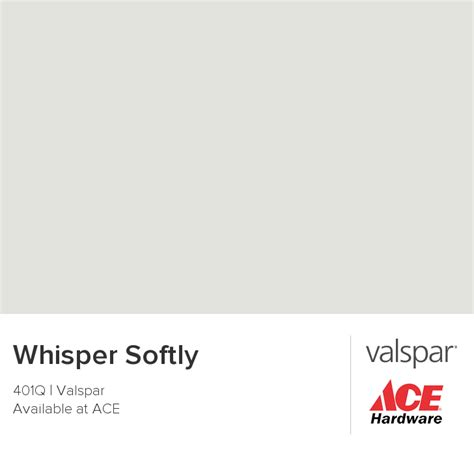 whisper softly from valspar downstairs bath looks a more blue in the room than this