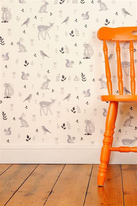 Animal Nursery Wallpaper - 17 best ideas about nursery wallpaper on baby