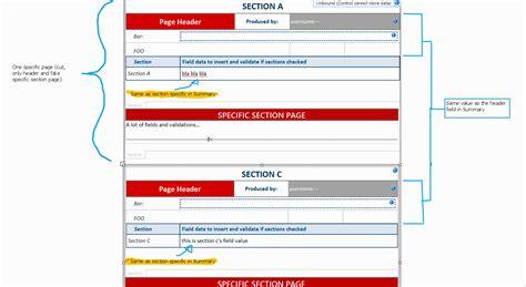 infopath2010 best approach to design an infopath form